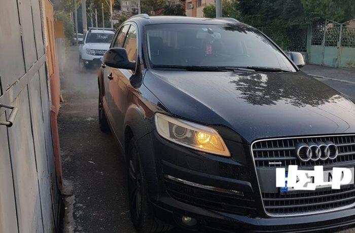 Regenerare filtru de particule Audi Q7 4.2 TDI