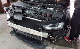 Montaj si activare Senzori Parcare Fata cu afisare pe MMI Audi A4 B8 2013