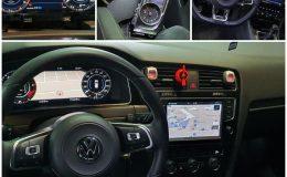 Ceasuri digitale virtual cockpit AID Golf 7