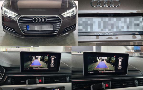 Audi A4 B9 2017 Instalare Camera Spate Marsarier Originala HIGHLINE