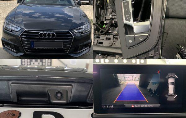 Instalare Camera Spate Audi A4 B9 + Auto Hold Audi A4 B9