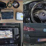 Camera Spate VW Golf 7 VII 2014