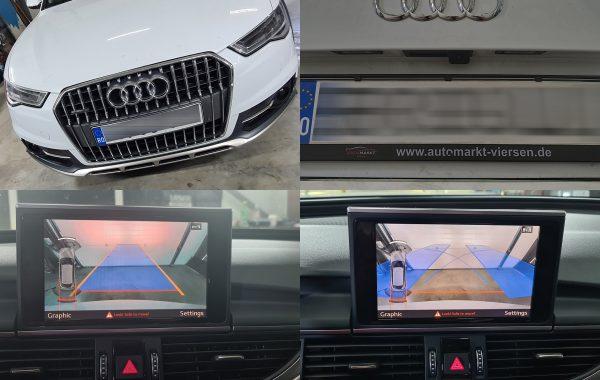 Camera Spate Highline/ Marsarier Audi A6 C7 Facelift 2017