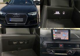 USB Carplay Android Auto Audi A4 B9